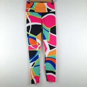 FABLETICS Salar Multi Colored Leggings Sz S/ 4-6